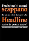 ebook gratis: Come scrivere Headline migliori