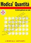 Modica quantità: 34 pillole gialle